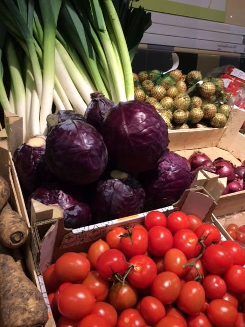 Gezonde verse groenten