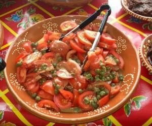 Tomatensalade van Sterren van de Hemel Catering