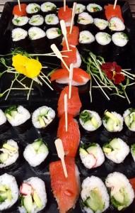 Nog meer sushi van Sterren van de Hemel Catering