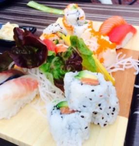 Sushi van Sterren van de Hemel Catering