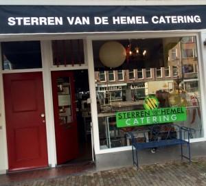 De entree van Sterren van de Hemel catering