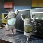 Dansend peper en zoutstel